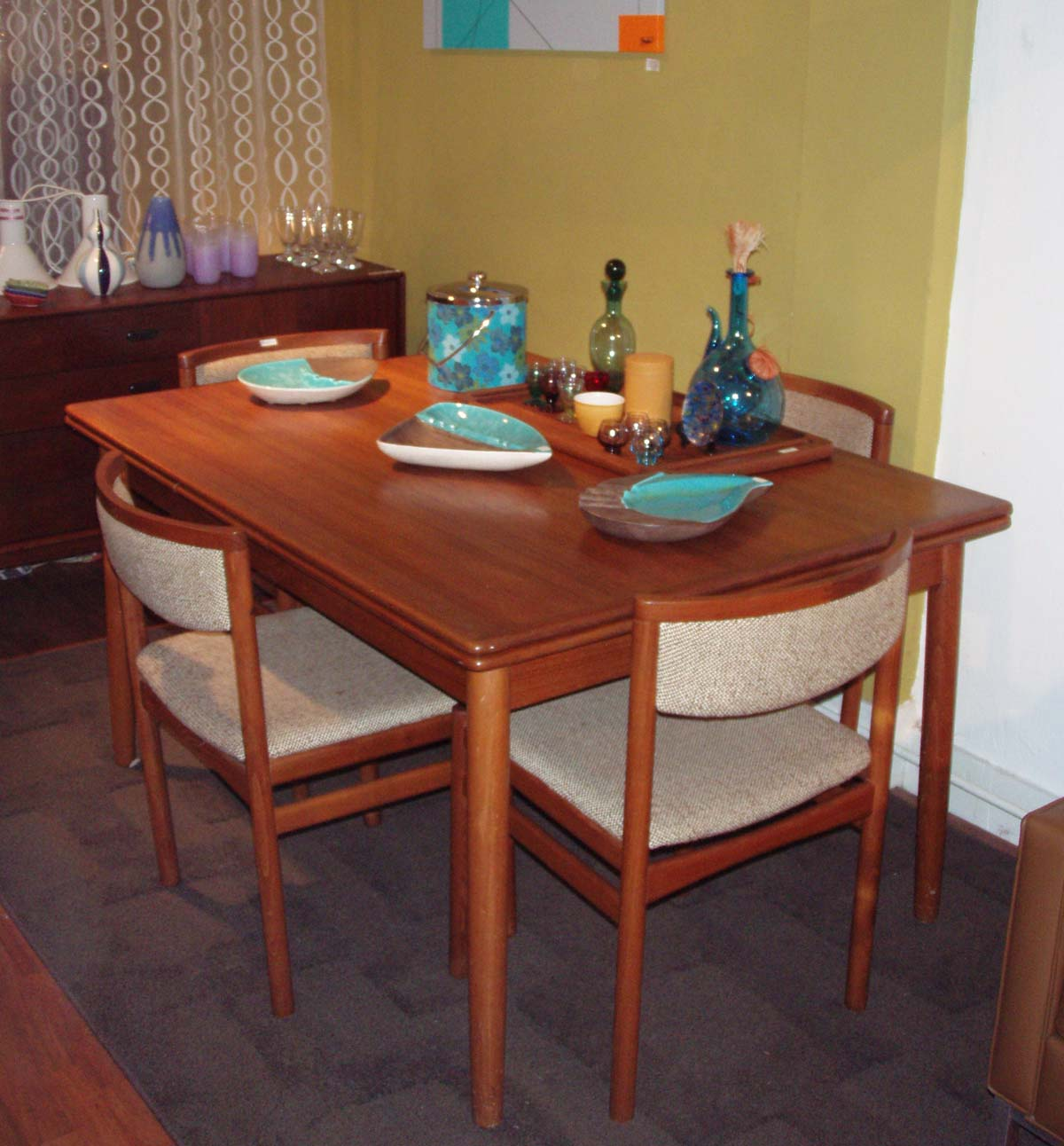 Scandinavian Teak Dining Room Furniture Gallery   Sold Tables  2006_1224Image0013