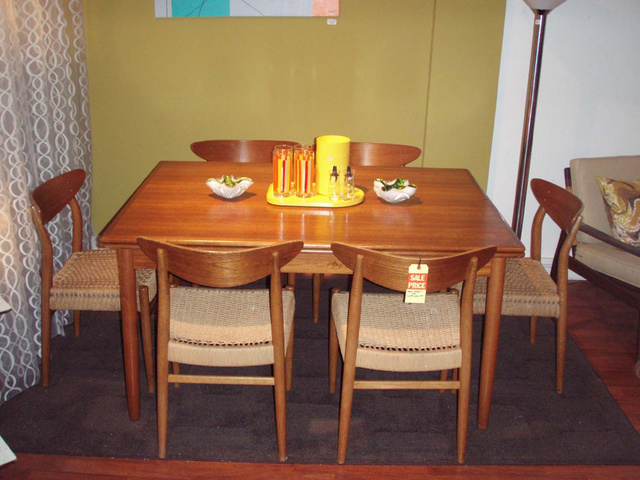 teak dining room table set gallery