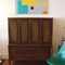 Vintgage walnut highboy storage/dresser by Broyhill - SOLD