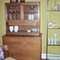 """Vintage Walnut China Cabinet/Credenza by """"Cavalier"""", Dimensions:Credenza:H 38 1/2 in. W 21 in. L 42 in. China Cabinet H 35in. W 14in L 38  1/2 in.  hutch is removable  - SOLD"""
