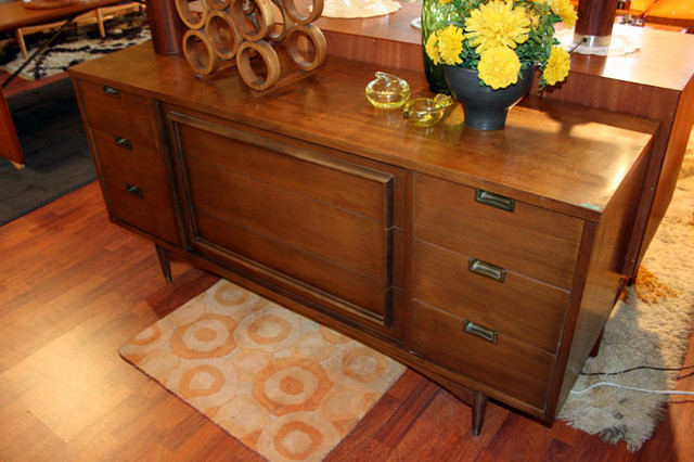 long and low dresser that matches our highboy.