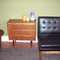 Vintage teak petite 3 dwr dresser - SOLD