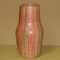 Textured vase in linear pattern, possibly German, $65.00