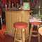 Vintage bamboo tiki bar w/ solid mahogany top & storage shelves in back $750.00 (SALE $600)