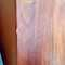 """view 6,  CLOSE UP of small chip in veneer of left side, back  1/2"""" long ; again, this small flaw does not take away from overall beauty."""
