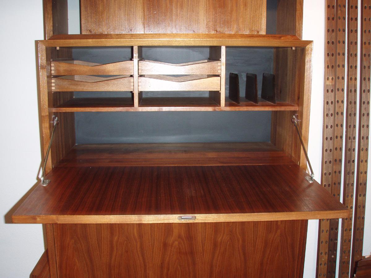 Etonnant Cabinet 2. Interior, Has Organized Shelf System Inside! Cabinet 2 With  Dropleaf Door