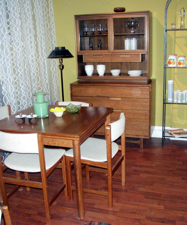 gallery danish modern teak table made in denmark 36