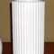 White ribbed vase marked Lymoges Denmark $125.00