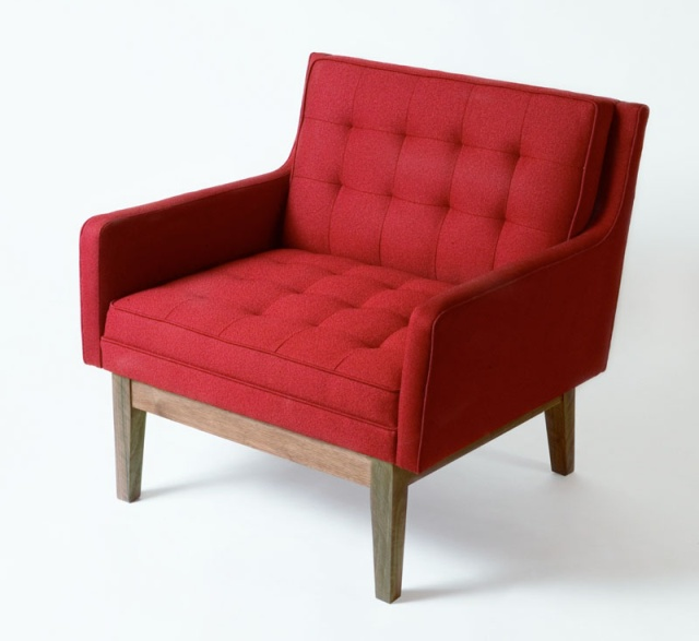 """The DEXTER Arm Chair  30""""L x 30""""H x 30""""D,   This  timeless modern design evokes elegance and sophistication.  The DEXTER seating collection is made to order, with a lead time of approximately 6-8 weeks.  Wholesale inquiries are welcome. for questions, please go to http://sales@retroathome.com"""