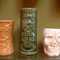 "Original ""Daga"" Hawaii Tiki mug from the Fogcutter Restaurant Bar, approx 5 1/4""H, $25.00  vintage Sneaky Tiki Harveys, Lake Tahoe Resort Casino, approx 7""H $30.00--SOLD  Kahiki Skull Mug #2, Columbus, Ohio,  approx 4 1/2""H SOLD"